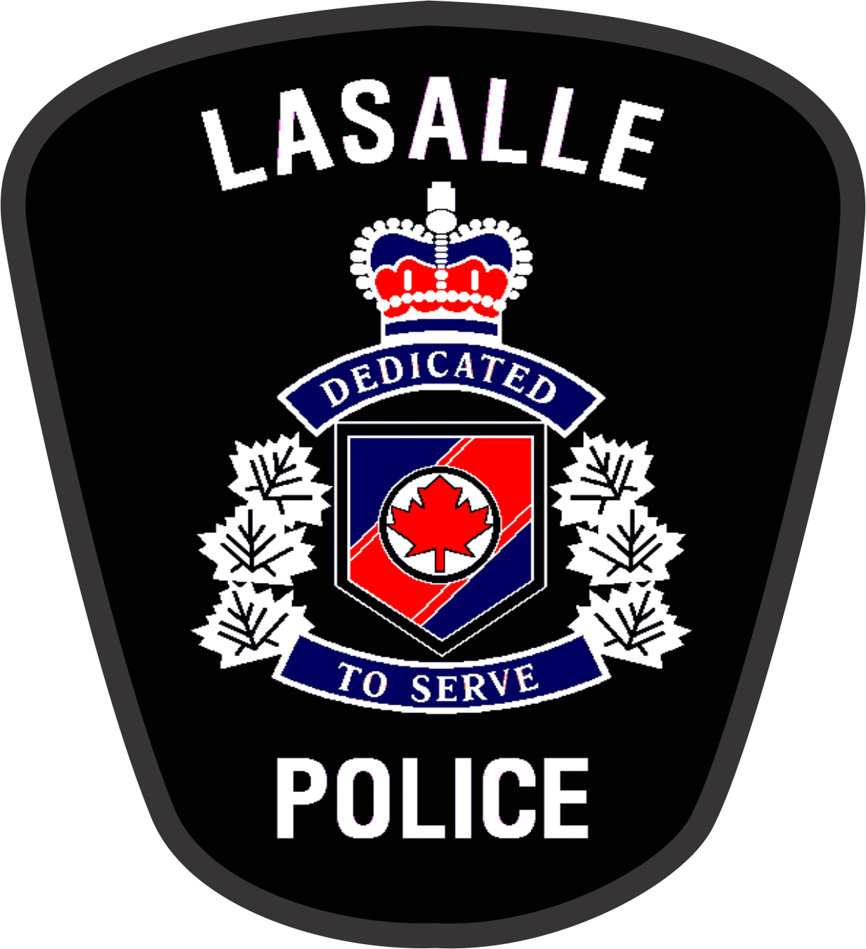 LaSalle Police Department Badge Image
